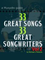 33 Great Songs 33 Great Songwriters Vol 2