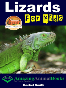 Lizards For Kids: Amazing Animal Books for Young Readers