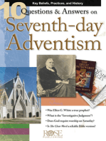 10 Q&A on Seventh-Day Adventism
