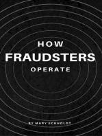 How Fraudsters Operate