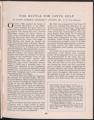 battle of leyte gulf essay Maps and primary quotes battle of leyte gulf, 1944 people of philippines, i have returned- general macarthur create a free website powered by.