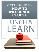 How to Influence People Lunch & Learn