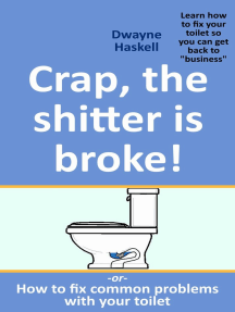 Crap, The Shitter Is Broke! -Or- How To Fix Common Problems With Your Toilet