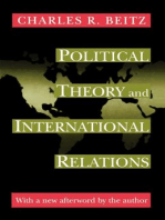 Political Theory and International Relations