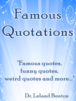 Famous Quotations