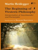 The Beginning of Western Philosophy