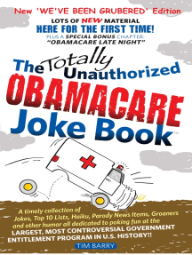 The Totally Unauthorized Obamacare Joke Book: NEW 'We've Been Grubered' Edition