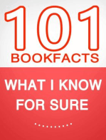 What I know for Sure – 101 Amazing Facts You Didn't Know