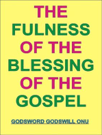 The Fulness of the Blessing of the Gospel