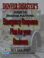 Denver Disaster's Guide to Disaster Planning, Emergency Response Plan for your Business
