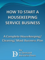 How To Start A Housekeeping Service Business