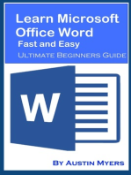 Learn Microsoft Office Word Fast and Easy