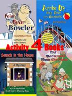 4 Activity Books