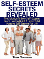 Self-Esteem Secrets Revealed