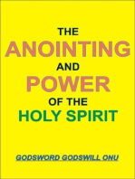 The Anointing and Power of the Holy Spirit