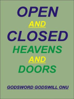Open and Closed Heavens and Doors