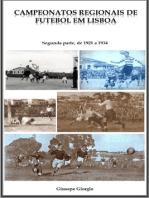 Campeonatos Regionais de Futebol em Lisboa, de 1921 a 1934