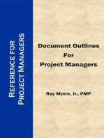 Document Outlines for Project Managers