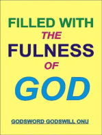 Filled With the Fulness of God