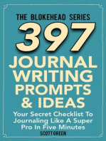 397 Journal Writing Prompts & Ideas