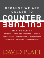 Because We Are Called to Counter Culture