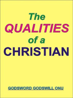 The Qualities of a Christian