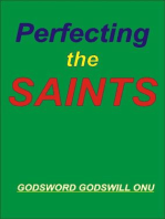 Perfecting the Saints