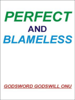 Perfect and Blameless
