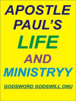 Apostle Paul's Life and Ministry