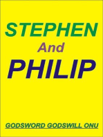 Stephen, the Martyr, and Philip, the Evangelist