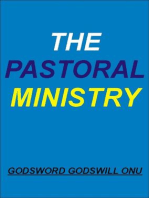 The Pastoral Ministry