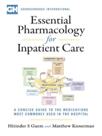 Essential Pharmacology For Inpatient Care