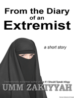 From the Diary of an Extremist