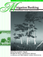 Mitigation Banking: Theory And Practice
