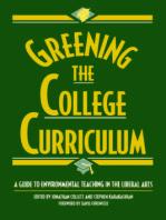Greening the College Curriculum