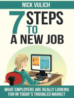 7 Steps To A New Job