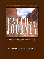 Faith for the Journey (Volume I)