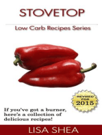Stovetop Low Carb Recipes (Low Carb Reference, #3)
