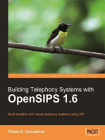 Building Telephony Systems with OpenSIPS 1.6