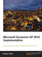Microsoft Dynamics GP 2010 Implementation