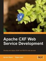 Apache CXF Web Service Development