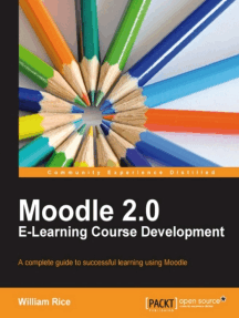 Moodle 2.0 E-Learning Course Development
