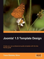 Joomla! 1.5 Template Design