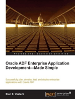 Oracle ADF Enterprise Application Development-Made Simple