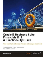 Oracle E-Business Suite Financials R12