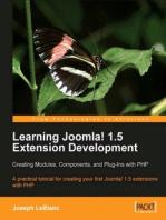 Learning Joomla! 1.5 Extension Development