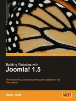 Building Websites with Joomla! 1.5