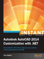 Instant Autodesk AutoCAD 2014 Customization with .NET