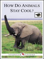 How do Animals Stay Cool
