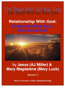 Relationship with God: Understanding Your Emotional Self Session 2